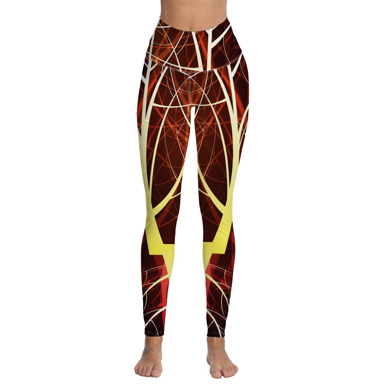 53aae1cd377e1c 2019 Womens Digital Printed High Waist Workout Leggings Athletic Running  Jogging Workout Yoga Pants From Lookest, $31.69 | DHgate.Com