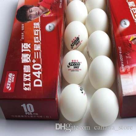 4e12e2b14 Compre Original DHS 40 + 3 Estrelas Nova Célula Dupla Bola De Tênis De Mesa  Nova Tecnologia Bola De Costura Para Jogo De Raquete De Ping Pong Vendas  Por ...