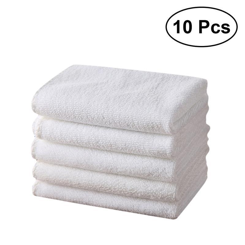 White Soft High-grade Cotton Face Towel Hand Towels Washcloths Bath Towels  Water Absorption Towel for Bathroom Hand Towels Cheap Hand Towels 10pcs set  White ... ecd8fe91e