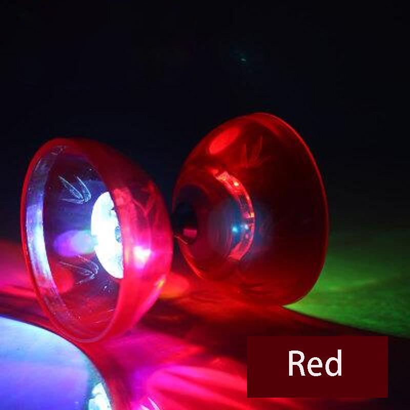 1/3/5 Bearing Professional Diabolo YOYO Toys Set Hight Speed Light Up Glow Classic Toys Bearing Jling String Bag Kongzhu