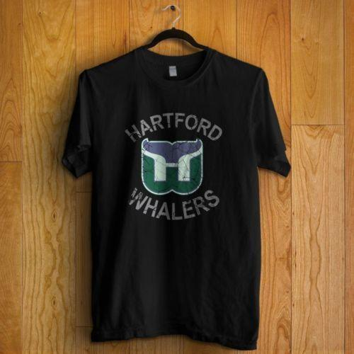 Hartford Whalers Puck Vintage Hockey T Shirt In All Color T Shirts Buy Shirt  T From Amesion2502 ac2ac2d14