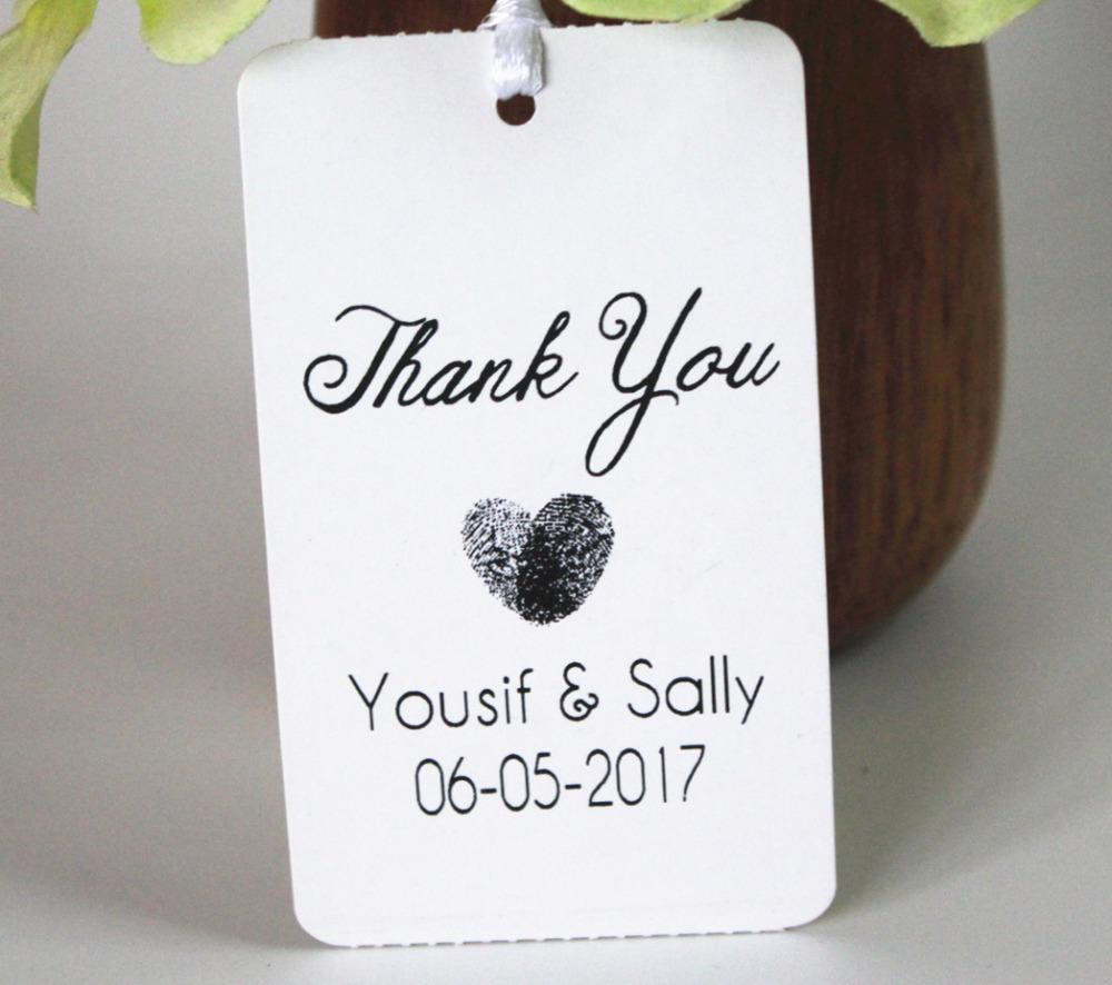 Custom Tag Personalized Rustic Gift Tag Paper Kraft Tags Wedding ...