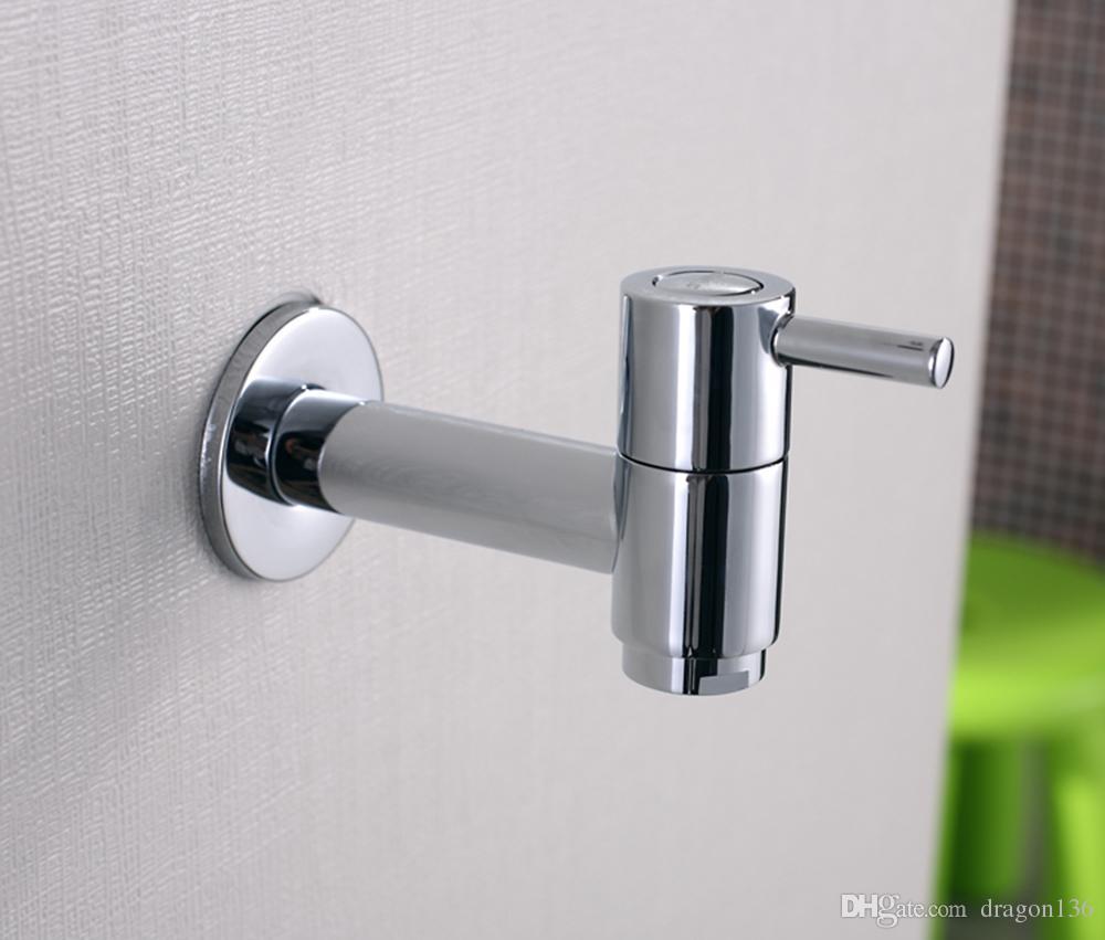 BLL Universal-Messing-Wäsche-Hahn-Gebrauchs-Mopp-Pool-Hahn-Wasser-Hahn-Chrom-Ende 18011