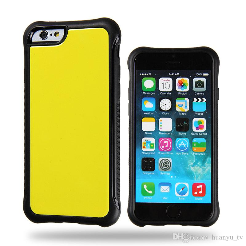 TPU PC Phone case For Iphone 6 6 plus 7 7 plus Anti-Fall Anti-shockproof new styles For Iphone X cheap back cover case
