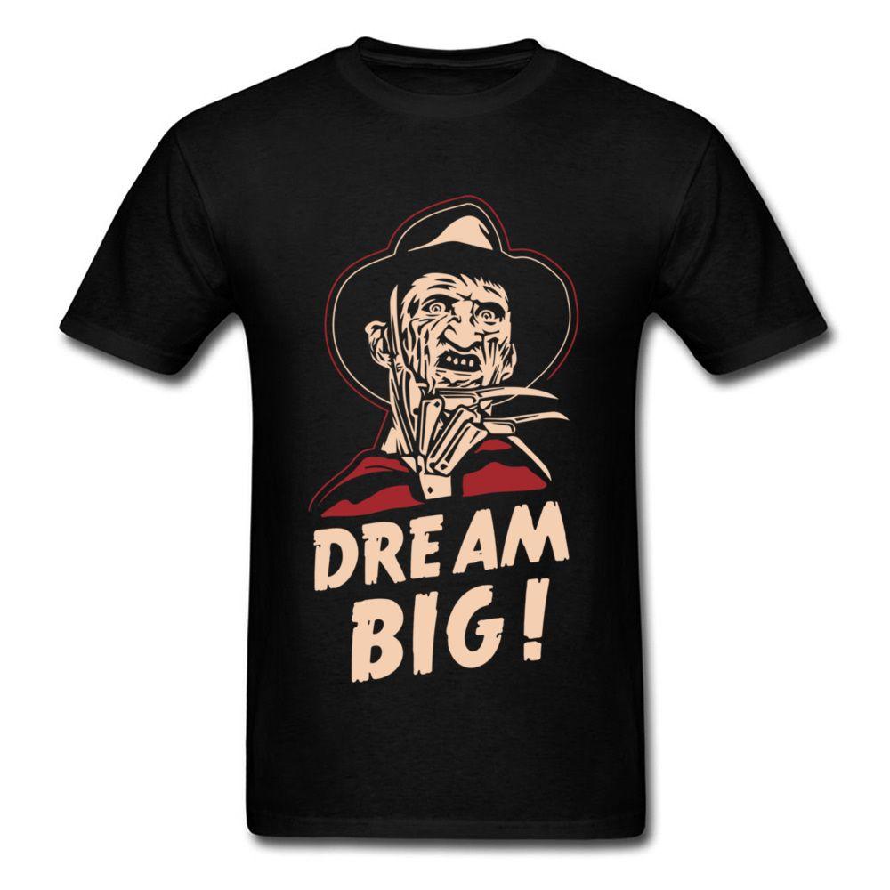 5757093ad Dream Big Men T Shirt Vintage T Shirt Cool Black Clothing Cowboy Cotton Tops  Character Tshirt Hip Hop Summer Tee Tshirt Designs T Shirt Design Template  From ...