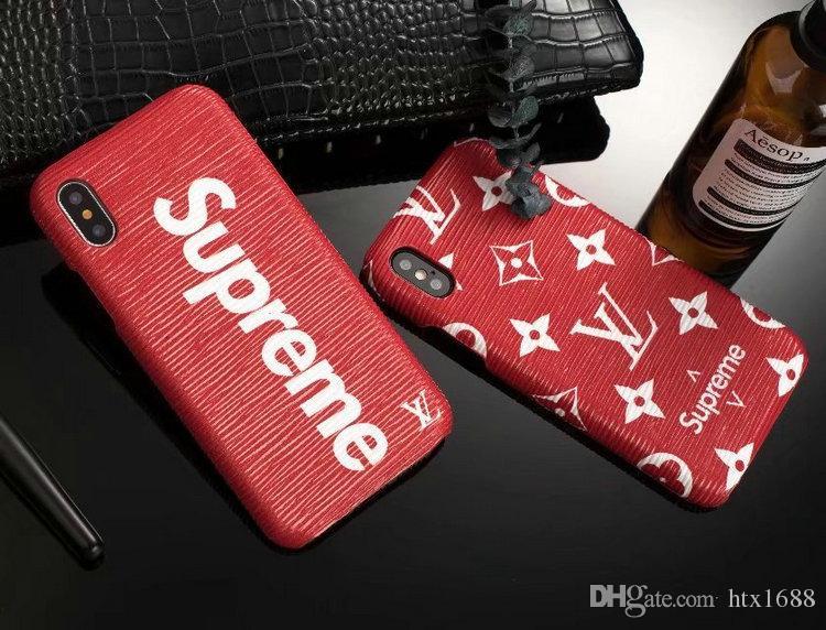 Coque pour iPhoneX 8 8plus 7 7plus lettre anglaise ondulée givré Etui de téléphone pour iPhone6 6plus couverture rigide de marque