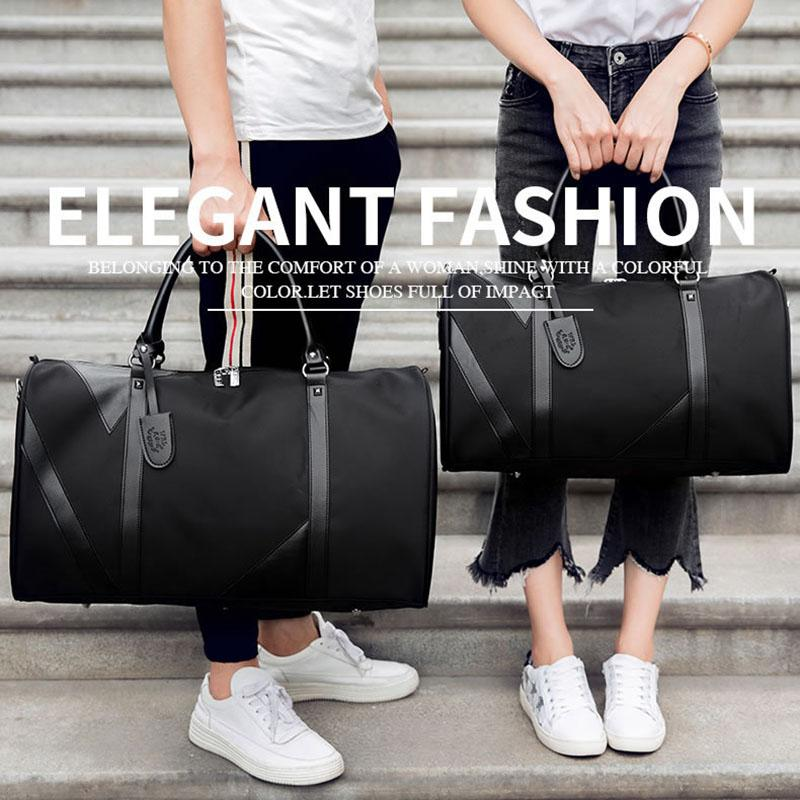Large Capacity Women Travel Bags Fashion Classical Designer 2018 Sale High  Quality Men Shoulder Duffel Bags Carry on Luggage Keepall Travel Bag Duffel  Bags ... cb7ec5ee2a24e