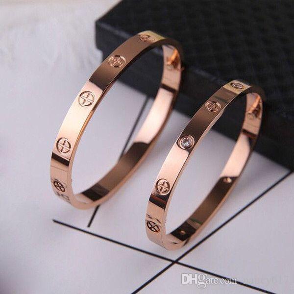 Bracelet en acier inoxydable de mode classique 316L avec tournevis Bracelets en acier au titane pour hommes et femmes Couple de bijoux