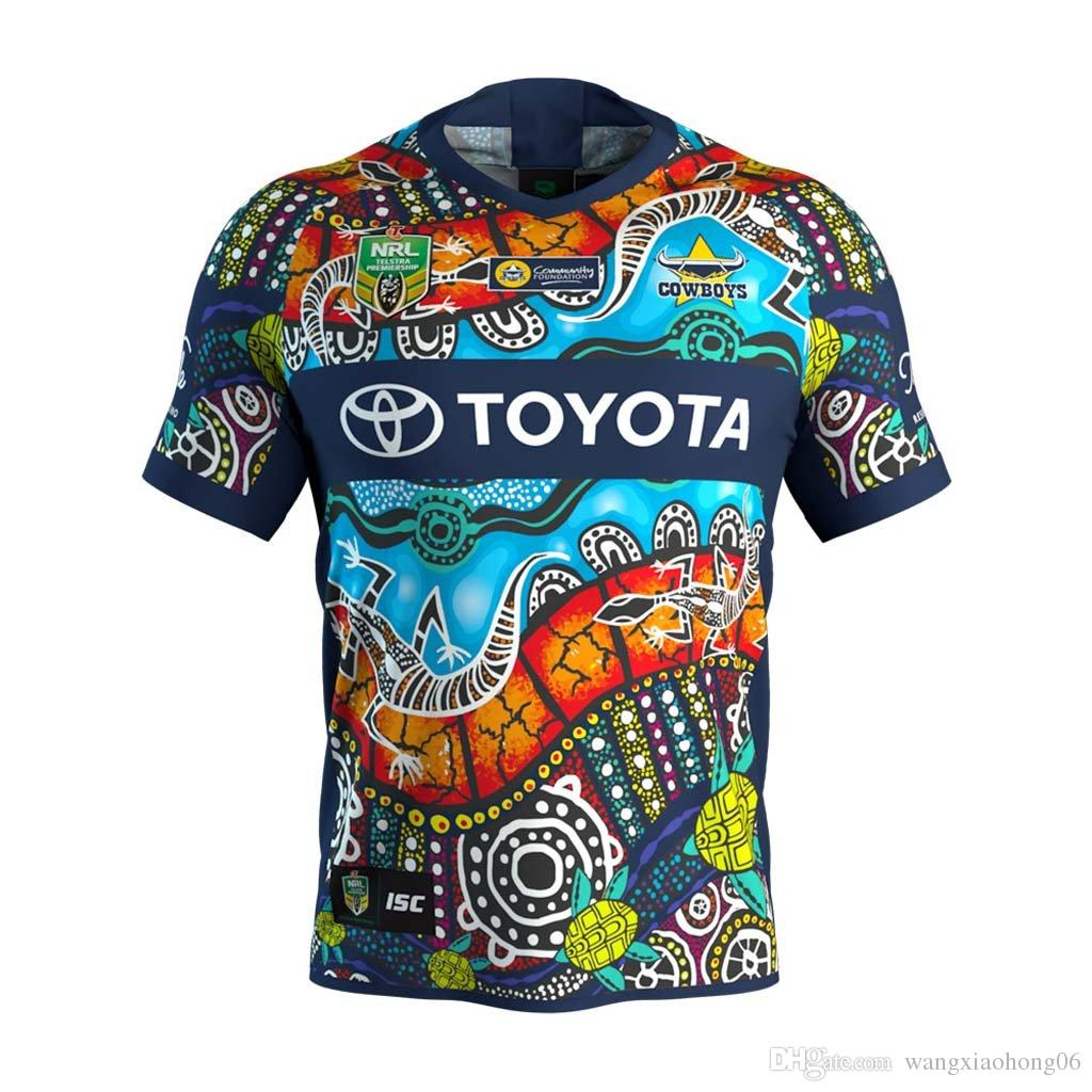 2018 2019 North Queensland Cowboys Rugby Jerseys 2018 Home Away ... d368e9184