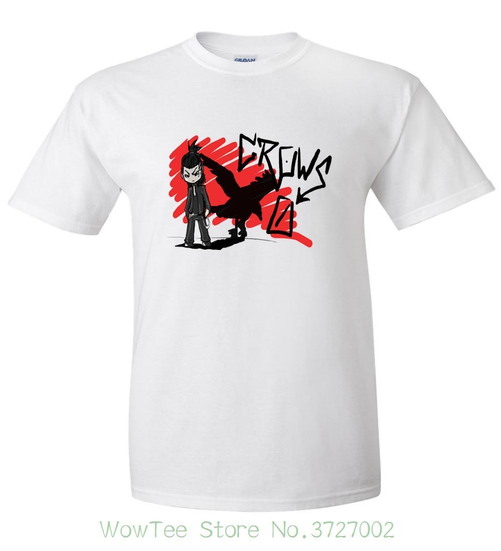 crows zero logo odod t shirt size s 6xl lt print t shirt men summer