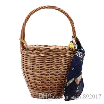 Fashion Beach Handbags Ladies Hand Bag Tote Travel Clutch 2019 Bohemian Straw  Bags Women Summer Wicker Basket Bag E63 Fashion Beach Handbags Bohemian  Straw ... 8be14c0d653f7