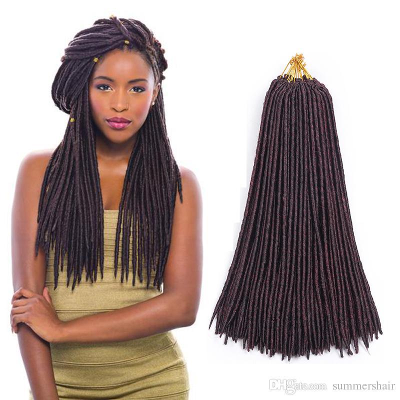 Summers Hair Locks Crochet Braids 18inches Straight Hair Extensions