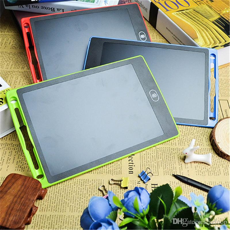 "8.5"" LCD Writing Tablet Handwriting Pad Digital Drawing Board Graphics Paperless Notepad Support Screen Clear Function 2107445"