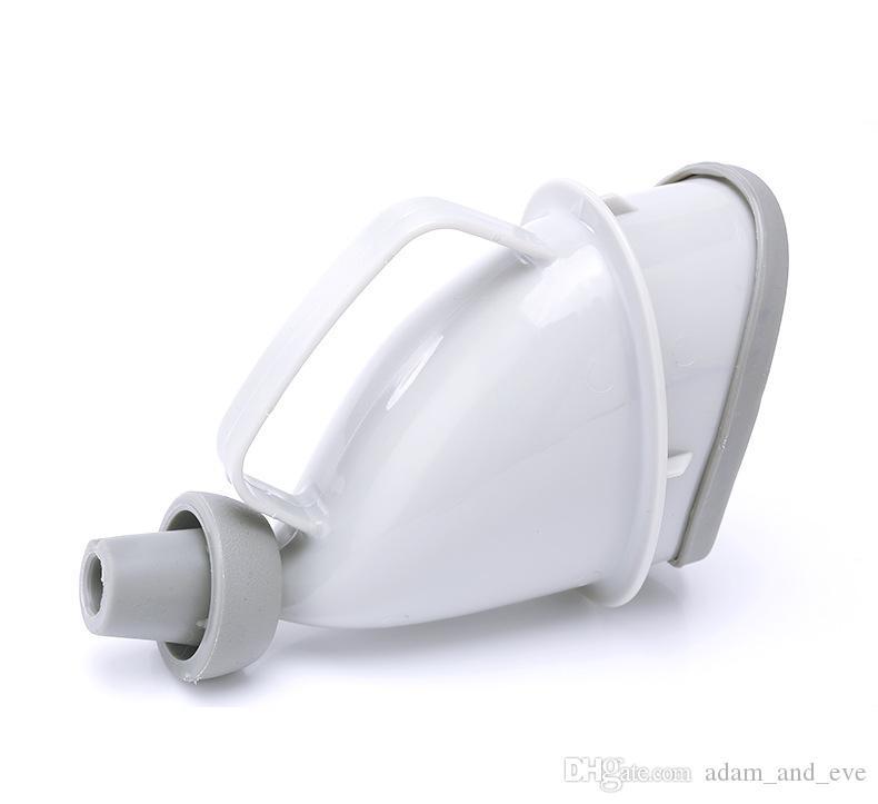 Portatile da viaggio Orinatoio Maniglia auto Bottiglia urina Tubo imbuto orinatoio Dispositivo minzione da campo all'aperto Stand Up Pee Toilet