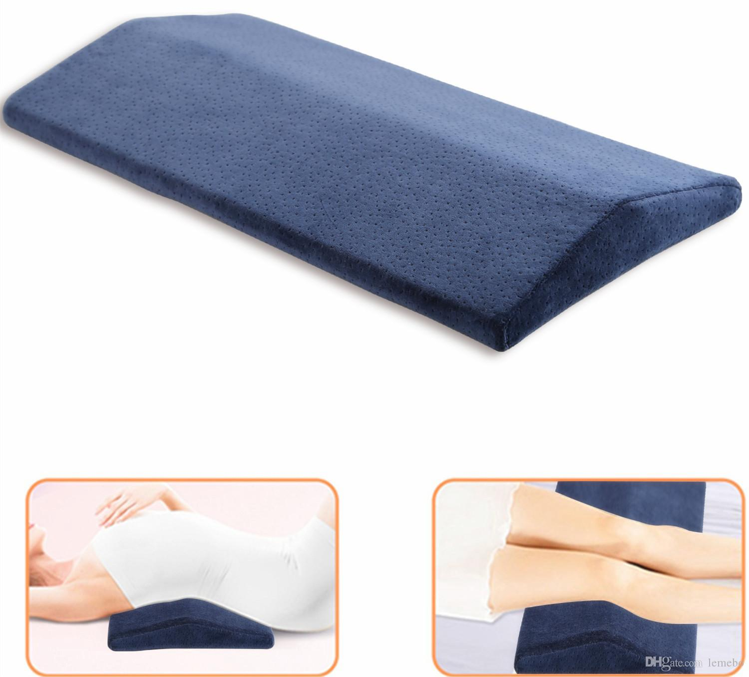 Orthopedic Lumbar Support Pillow For Bed Sleeping Pillow For Lower