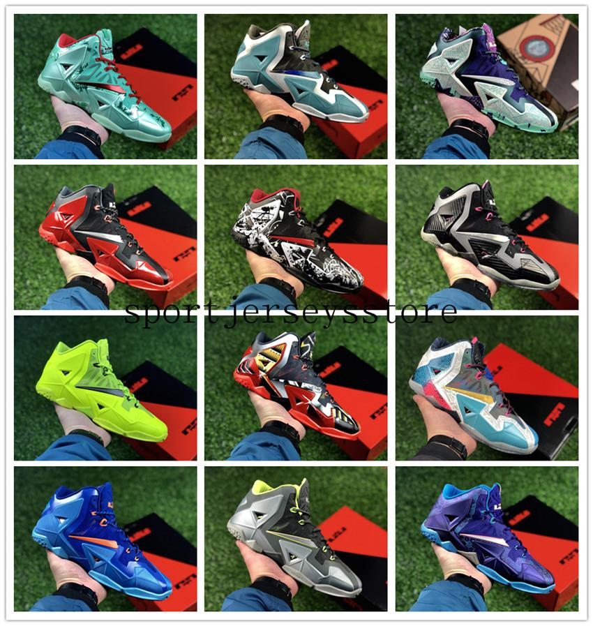 351aa78f539 Stockx45 James 11 Th Generation Combat Men s Basketball Shoes Gray Outdoor  Shoes Lebron 11 Basketball Shoes Sports Size Us 7-us 12 Outdoor Shoes  Online ...
