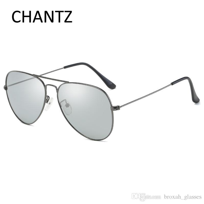 992adb3116 Vintage Driving Photochromic Sunglasses Men Retro Polarized Eyewear Women Metal  Sun Glasses Stainless Steel Shades Lunette De Soleil Designer Eyeglasses ...