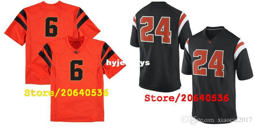e10575403e22 2019 Cheap Custom Oregon State Beavers College Jersey Mens Women Youth Kid  Personalized Any Number Of Any Name Stitched Black Football Jerseys From ...