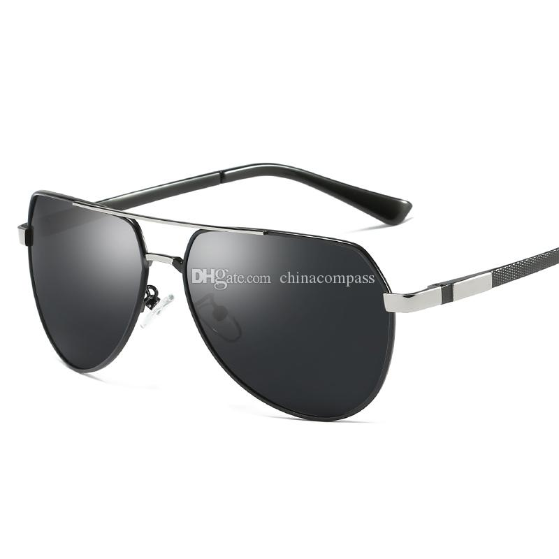 8fbebdd9ff New Fashion Pilot Polarized Sunglasses Beach Flash Eyewear Metal Sun Glasses  Driving Fishing For Men Women A389 Sunglasses For Men Prescription Glasses  From ...