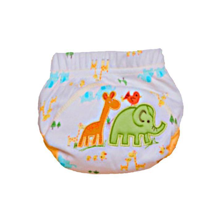 Adorável Fraldas Do Bebê Recém-nascidos Fraldas Reutilizáveis Pano Fralda Lavável Crianças Calças De Treinamento Do Bebê Fralda de Pano Fralda