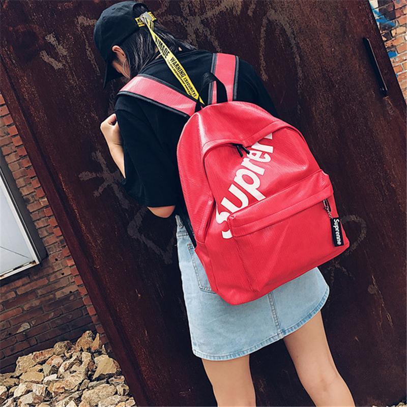 dcf12877c112 New Student Backpacks for Teenage Girls Preppy Style Designer New ...