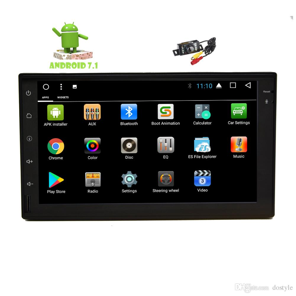 Backup Camera+Car Stereo Double Din In Dash Android 7.1