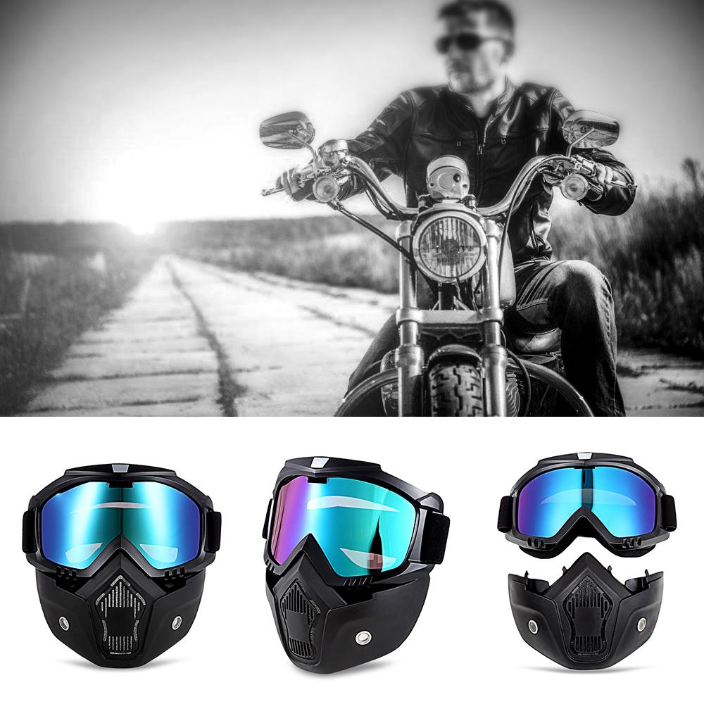 b8b6afb0ac MT - 009 Motorcycle Goggles With Detachable Mask And Mouth Filter ...