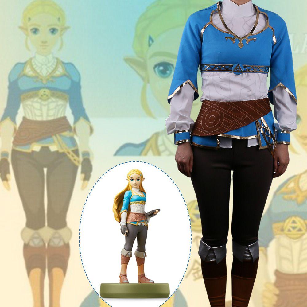 3922b2ee5 Hot Game The Legend Of Zelda Twilight Princess Costume Suits Adult Women  Dress T Shirt Pants Halloween Party Prop Best Team Halloween Costumes  Costume For ...