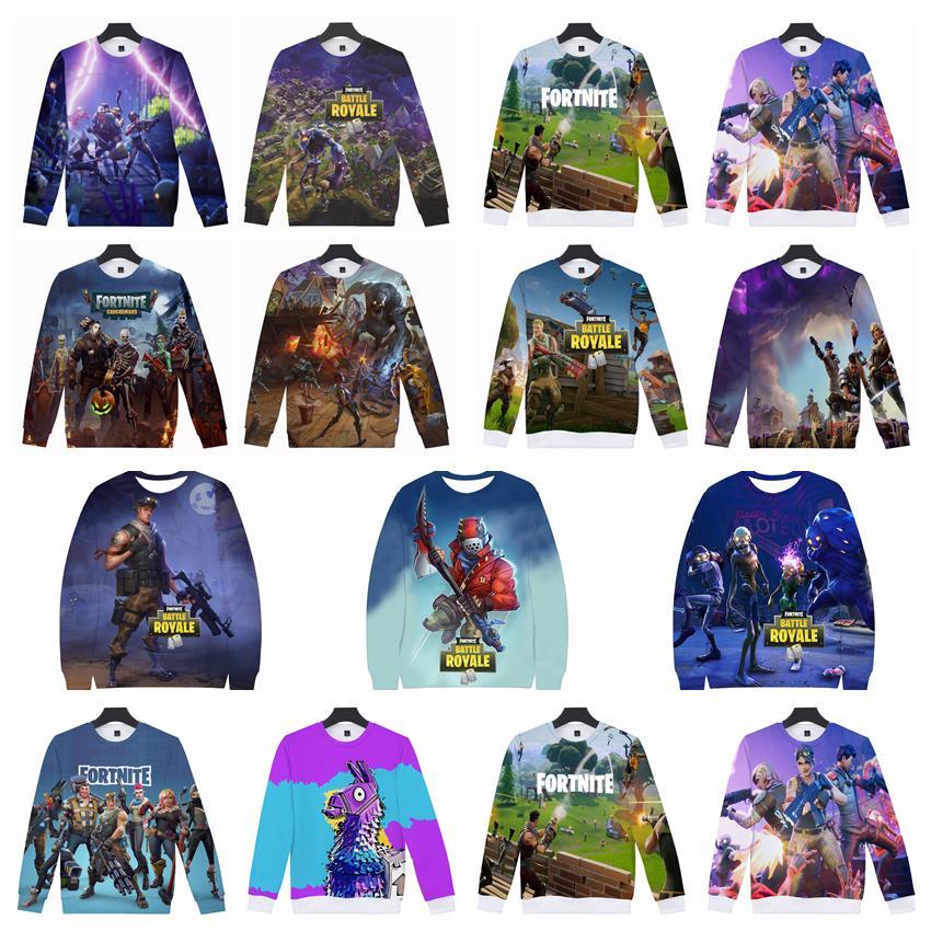 2019 Fortnite Sweatshirts 3d Print Game Fortnite Llama Hip Hop