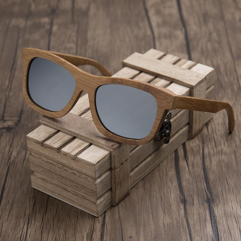 cf808d66c1 DODO DEER Bamboo Sunglasses Women Red Polarized Lenses Fashion Men Eyewear  In Wood Gift Box Custom Ladies Goggles Round Sunglasses Cheap Eyeglasses  From ...