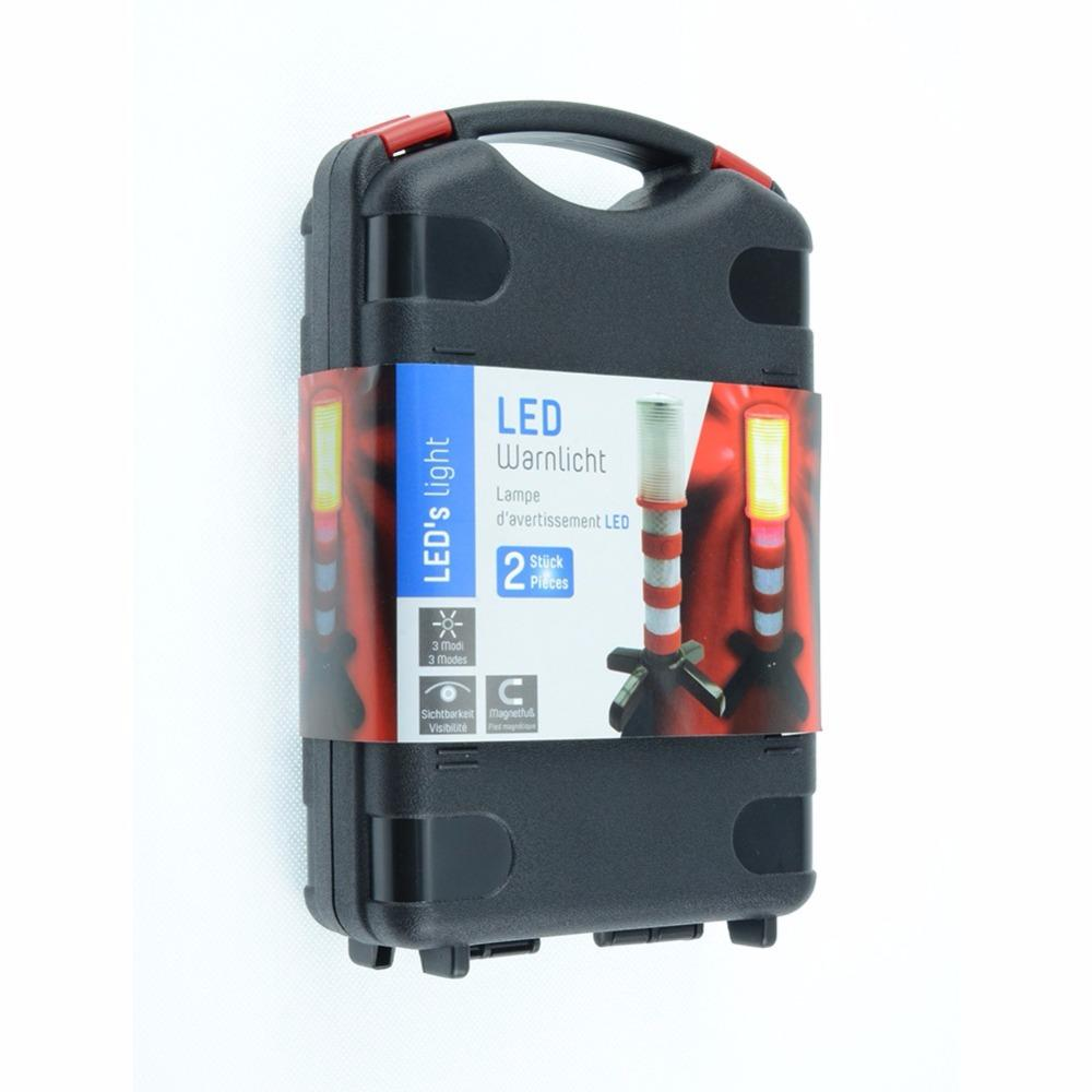 2019 led portable lamp road security flashing flash flare strobe