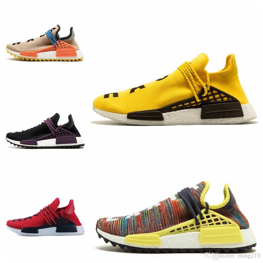finest selection 0cf5f 7b346 nmd shoes 2018 pharrell williams nmd human race TR Men Running Shoes  Pharrell Williams Nmds Human Races Pharell Williams Mens Womens