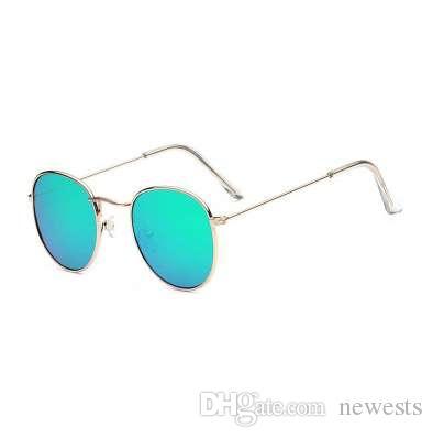 e0a13adaa2d9a Round Sunglasses Women Brand Designer Vintage Metal Cheap Sun Glasses For  Female High Quality Glasses Retro Small Circle Eyewear Serengeti Sunglasses  Sun ...