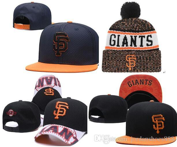 103e1009b1f7c 2019 Giants Hat Snapback Cap Champions SF Giants Beanie All Teams Men Women  Knitted Beanies Wool Hat Knit Bonnet Beanie Gorro Winter Cap Newsboy Cap  Trucker ...