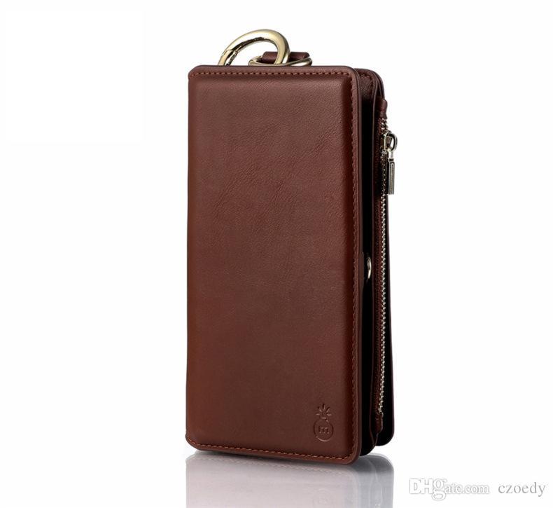 3cdb929e85 Custodie Cellulare Custodia In Pelle IPhone Portafoglio In Pelle Porta Carte  Di Credito Custodia Con Tasca Soldi, Cover Protettiva Compatibile Apple  IPhone ...