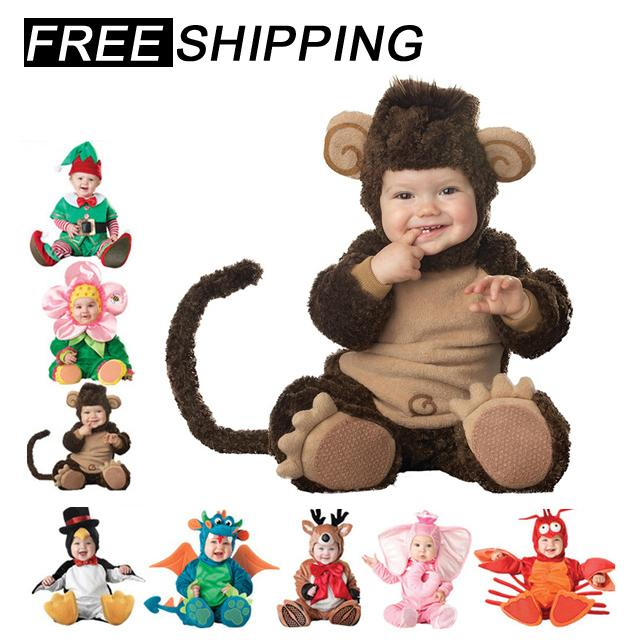 a1bc13a8e 2019 2018 Baby Rompers Newborn Clothes Animal Pirate Dinosaur ...