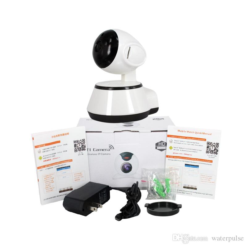 WiFi Kamera Kablosuz Gözetim Kamera IP Kamera Dadı Kam Pan Tilt Zoom Hareket Bebek Monitörü için Iki Yönlü Ses WiFi Tespit