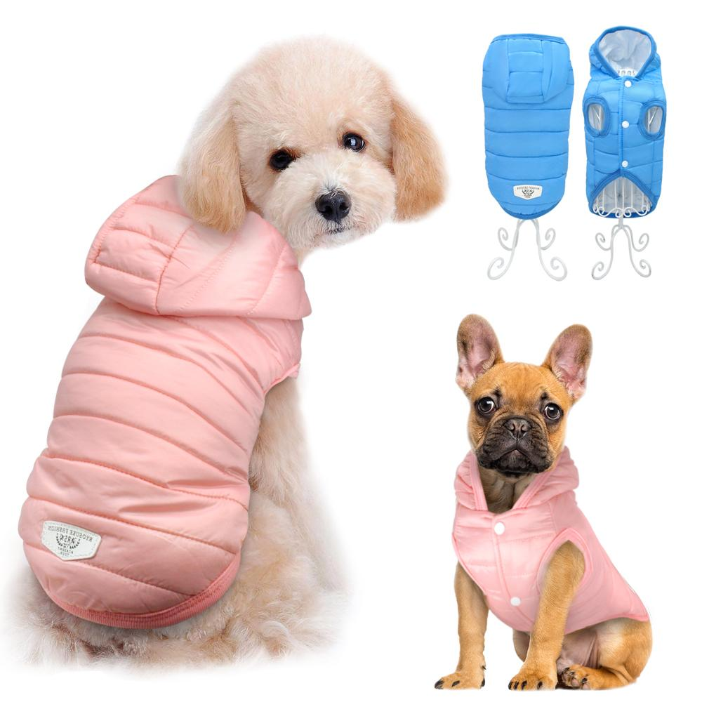 Winter Dog Clothes For Chihuahua French Bulldog Pug Pet Clothes Clothing For Small Dogs Waterproof Jacket Coat Costume roupa cachorro
