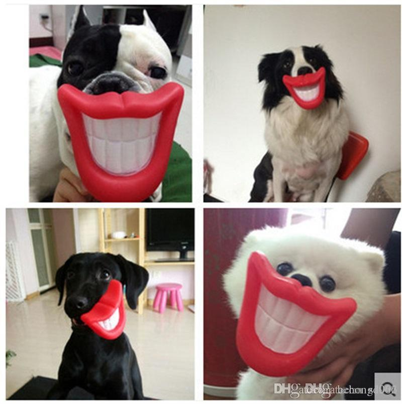 Originality Pvc Dog Toys Bite And Wear Resistance Flaming Red Lips Chews Toy Can Phonation Soft Fabric Eco Friendly 1 9zk jj