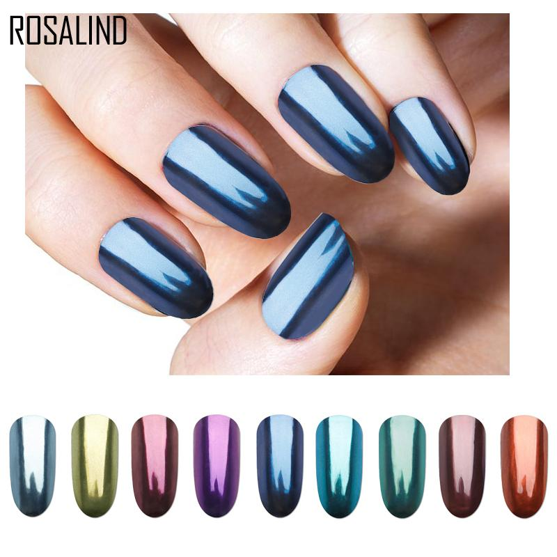 Rosalind Colorful New Mirror Acrylic Powder Nail Glitter For Nails ...
