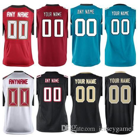 7133b334a2e 2018 2018 Personalized American Football Jerseys Atlanta Tampa Bay Saints  Buccaneers Falcons Panthers Custom Vapor Untouchable Color Rush Jersey From  Us444, ...
