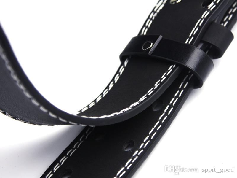 New PVC Weight Lifting Belt Gym Fitness Wide Back Support Training Equipment Weights Belt Bodybuilding Squat Waist Support