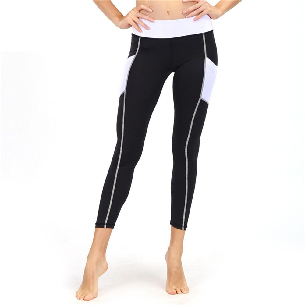 c2e3f8a82211b 2019 Women Yoga Pants Heart Shaped Hip Pattern Capri Ankle Yoga Pants  Double Pockets Strechy Fitness From Cumax, $24.06 | DHgate.Com