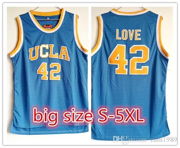 53ede02b349 ... blue college basketball jersey c1623 ee4ed  best 2018 2018 customized ncaa  ucla bruins 42 kevin love basketball jerseys stitched embroidery jerseys for