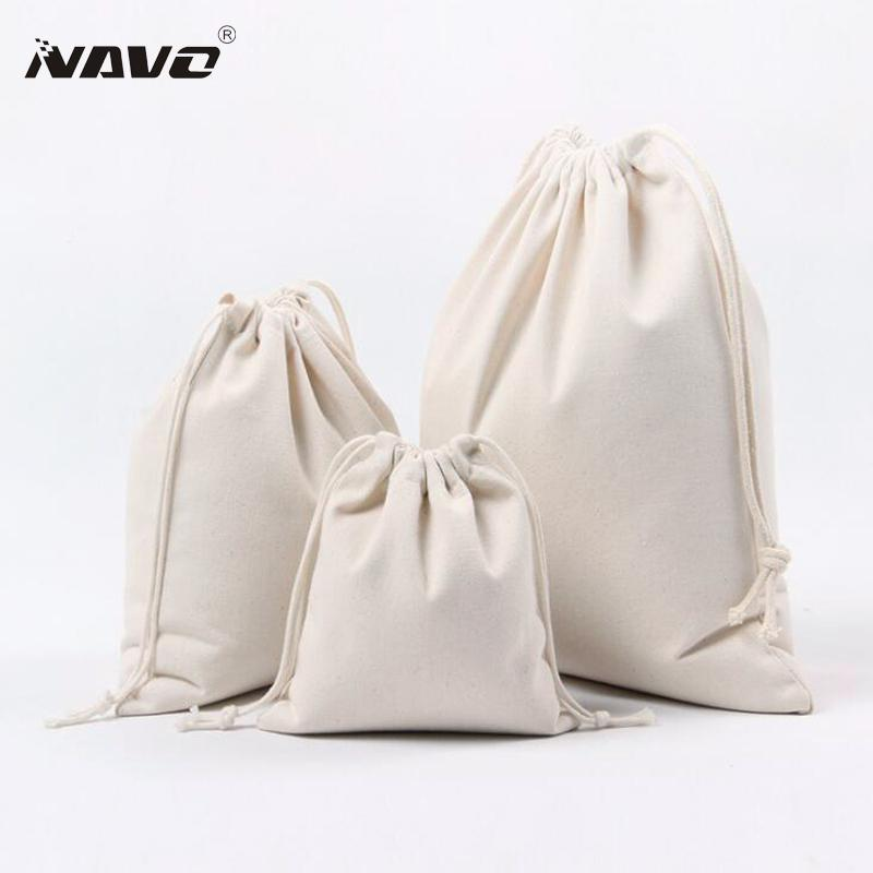 2019 Handmade Cotton Drawstring Bag Travel Draw String Pouch Wholesale Eco  Friendly Blank Cotton Pouch Calico Gift Bags From Arrownet ce4b1593217bf