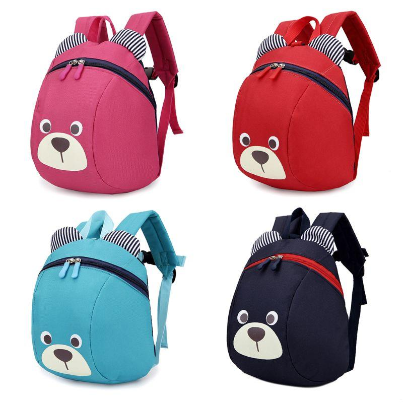 a789779117d6 THINKTHENDO Cute Bear Small Toddler Backpack With Leash Children Kids Backpack  Bag For Boy Girl Mini Girl Boys Backpacks Jansport Backpacks School Bags  From ...