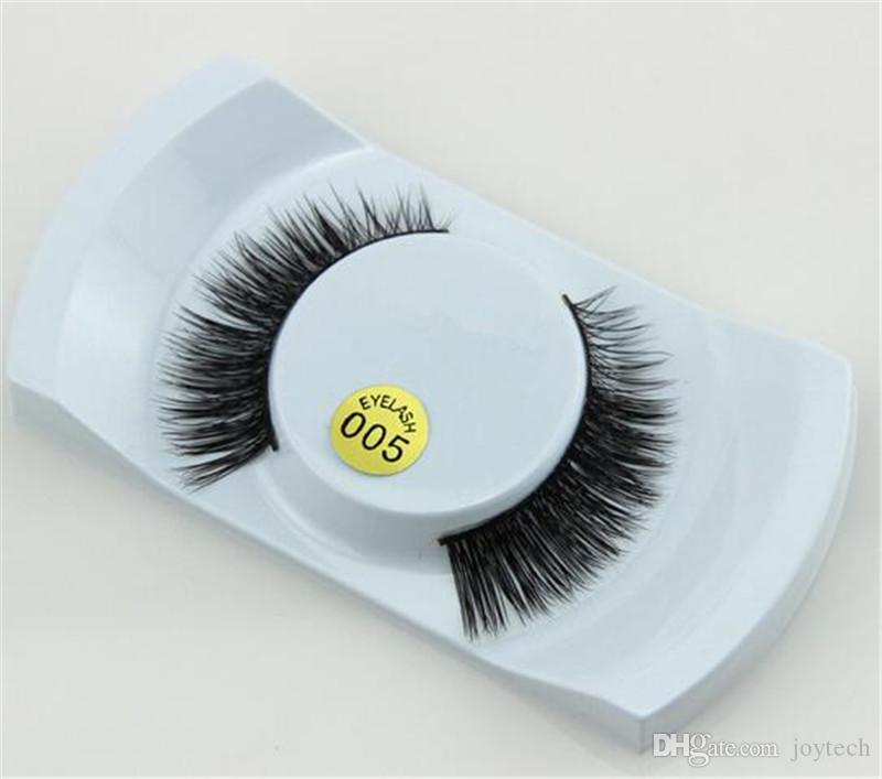 100% 3D Mink Makeup Cross False Eyelashes Eye Lashes Extension Handmade nature eyelashes 15 styles for choose also have magnetic eyelash