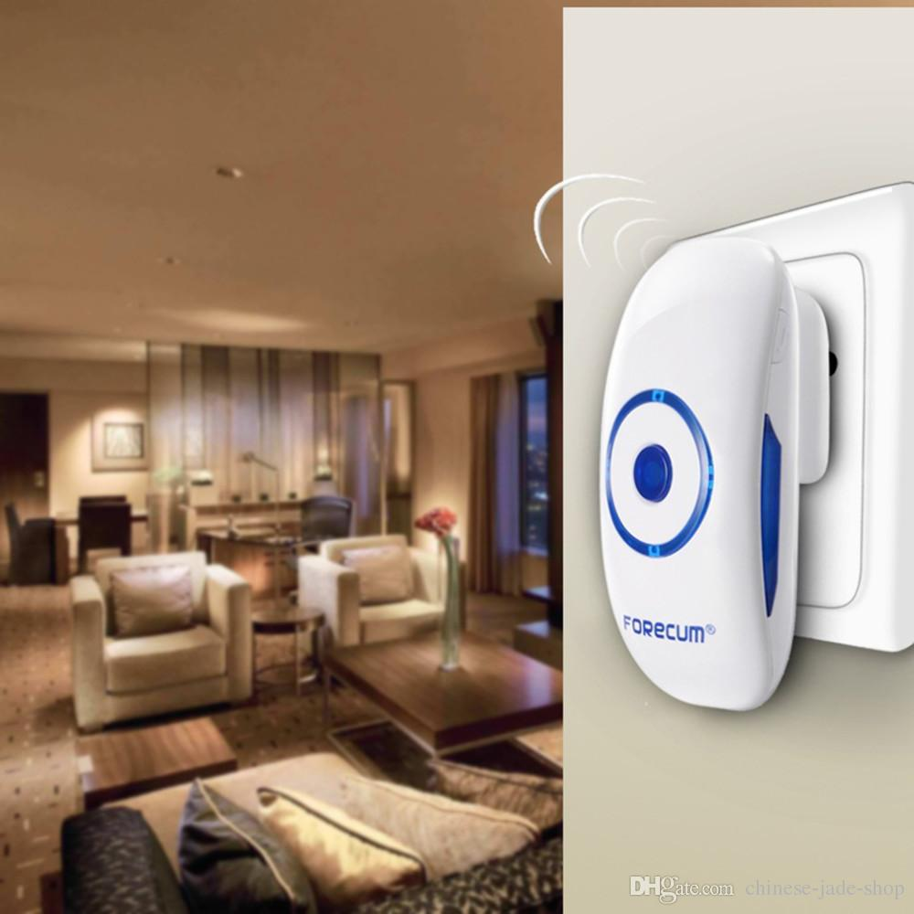 Forecum 8 Digital Door Bell 36 Songs EU/US Plug Long Distance Remote Control Receiving LED Motion Sensor Doorbells 50se