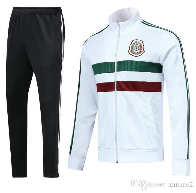 3f636df5d 2019 2018 World Cup Mexico Soccer Jacket Mexico Tracksuit 18 2019 White  CHICHARITO National Team Football Jacket Training Top Jacket From Zhuhao2,  ...