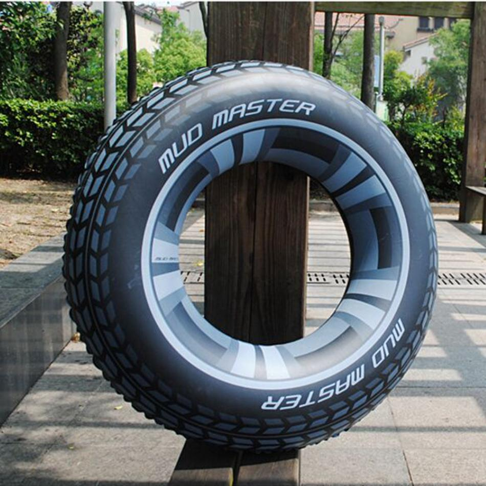 Jumbo Tire Float Intex Giant Tire Tube Inflatable Water Swimming Pool Ring  Float Raft Lounger LJJM12